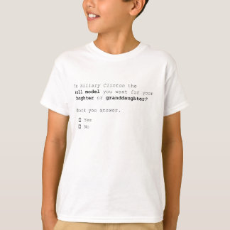 The important 2016 presidential Question T-Shirt