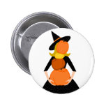 The Impossible Pumpkin Stack Pinback Button
