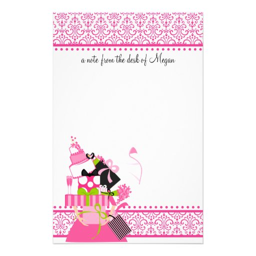 The Impossible Wedding Stack lace Customized Stationery