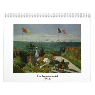 The Impressionist ~ Changeable for 2018 Wall Calendars
