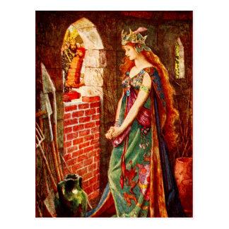 The Imprisoned Princess Postcard