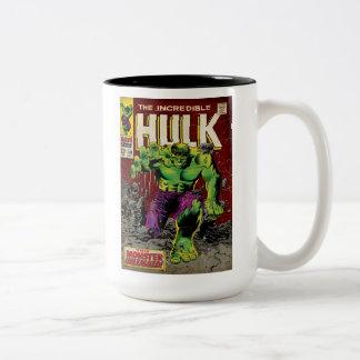 The Incredible Hulk Comic #105 Two-Tone Coffee Mug