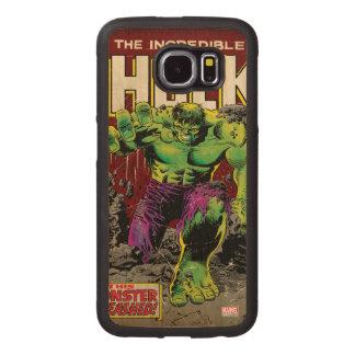The Incredible Hulk Comic #105 Wood Phone Case