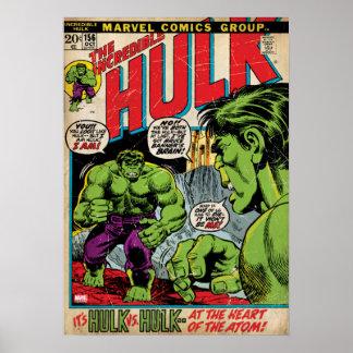 The Incredible Hulk Comic #156 Poster