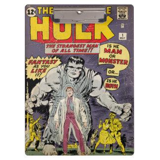 The Incredible Hulk Comic #1 Clipboards