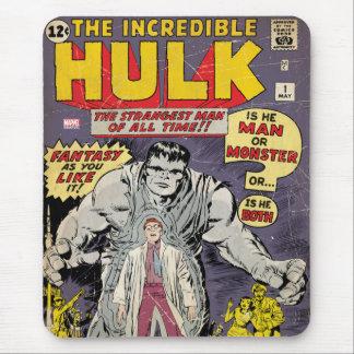 The Incredible Hulk Comic #1 Mouse Pad
