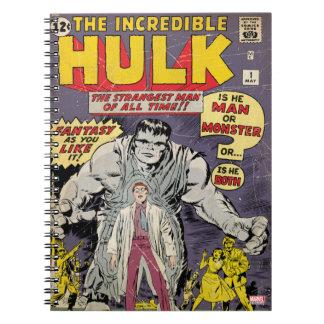 The Incredible Hulk Comic #1 Notebooks
