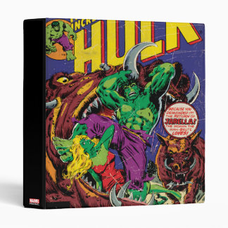 The Incredible Hulk Comic #202 Binder