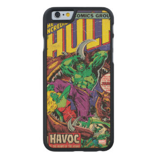The Incredible Hulk Comic #202 Carved Maple iPhone 6 Case