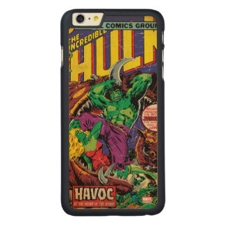 The Incredible Hulk Comic #202 Carved® Maple iPhone 6 Plus Case