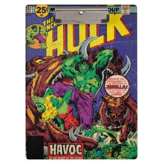 The Incredible Hulk Comic #202 Clipboard
