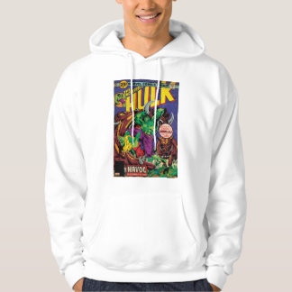 The Incredible Hulk Comic #202 Hooded Pullovers