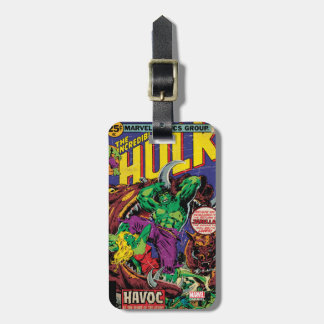 The Incredible Hulk Comic #202 Luggage Tag
