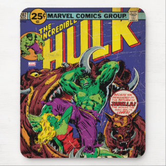The Incredible Hulk Comic #202 Mouse Pad