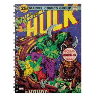 The Incredible Hulk Comic #202 Notebook