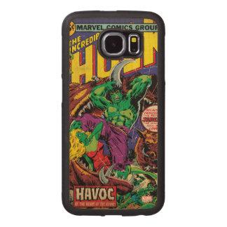 The Incredible Hulk Comic #202 Wood Phone Case