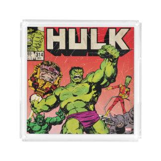 The Incredible Hulk Comic #314 Acrylic Tray