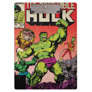 The Incredible Hulk Comic #314 Clipboard