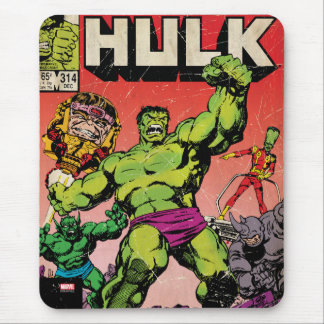 The Incredible Hulk Comic #314 Mouse Pad