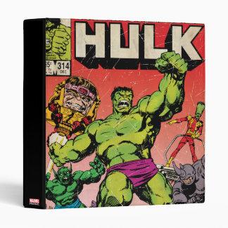 The Incredible Hulk Comic #314 Vinyl Binder
