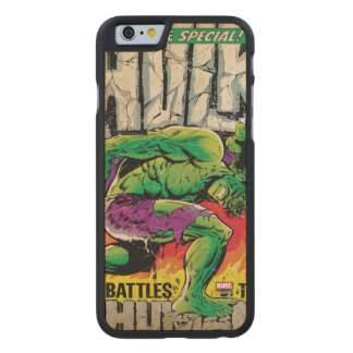 The Incredible Hulk King Size Special #1 Carved Maple iPhone 6 Case