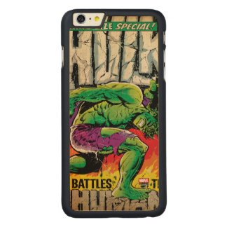 The Incredible Hulk King Size Special #1 Carved Maple iPhone 6 Plus Case