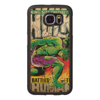 The Incredible Hulk King Size Special #1 Wood Phone Case