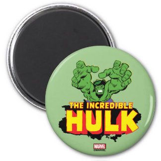 The Incredible Hulk Logo 2 Inch Round Magnet