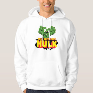 The Incredible Hulk Logo Hoodie