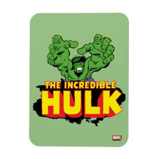 The Incredible Hulk Logo Rectangular Photo Magnet