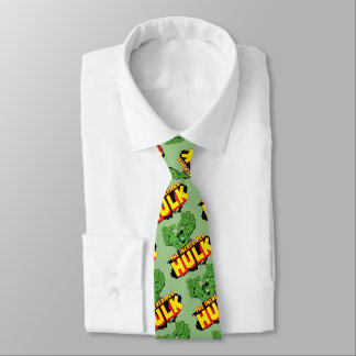 The Incredible Hulk Logo Tie
