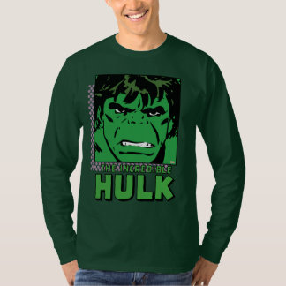 The Incredible Hulk Retro Comic Icon T-Shirt