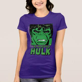 The Incredible Hulk Retro Comic Icon T-Shirt