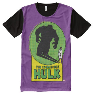 The Incredible Hulk Vintage Shadow Graphic