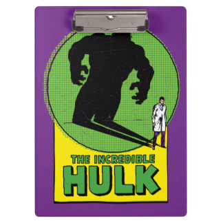 The Incredible Hulk Vintage Shadow Graphic Clipboards