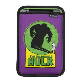 The Incredible Hulk Vintage Shadow Graphic iPad Mini Sleeve