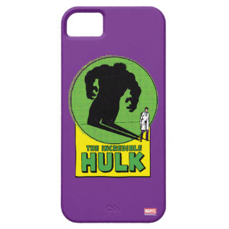 The Incredible Hulk Vintage Shadow Graphic iPhone 5 Case