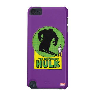 The Incredible Hulk Vintage Shadow Graphic iPod Touch 5G Covers
