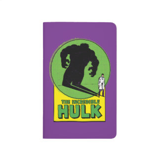 The Incredible Hulk Vintage Shadow Graphic Journal