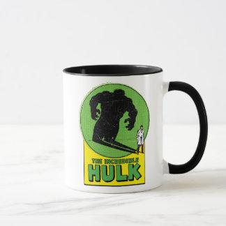 The Incredible Hulk Vintage Shadow Graphic Mug