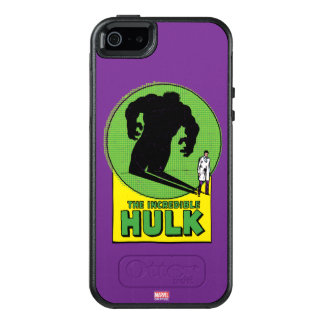 The Incredible Hulk Vintage Shadow Graphic OtterBox iPhone 5/5s/SE Case
