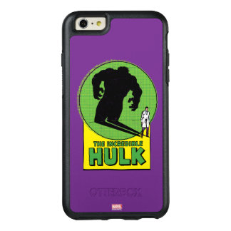 The Incredible Hulk Vintage Shadow Graphic OtterBox iPhone 6/6s Plus Case