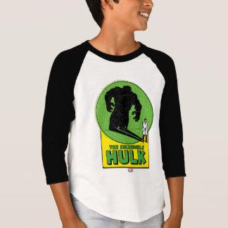 The Incredible Hulk Vintage Shadow Graphic Shirt