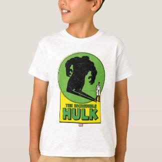 The Incredible Hulk Vintage Shadow Graphic Shirts