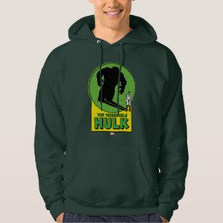 The Incredible Hulk Vintage Shadow Graphic Sweatshirts