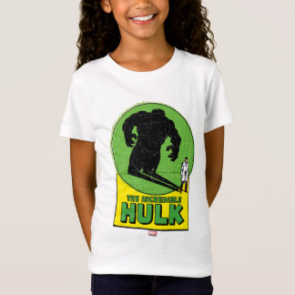 The Incredible Hulk Vintage Shadow Graphic T-Shirt