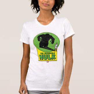 The Incredible Hulk Vintage Shadow Graphic Tee Shirts