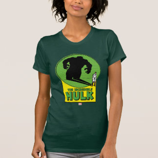 The Incredible Hulk Vintage Shadow Graphic Tees