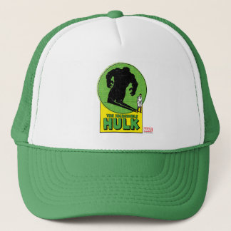 The Incredible Hulk Vintage Shadow Graphic Trucker Hat