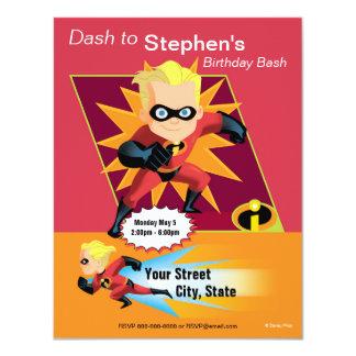 The Incredibles Dash Birthday Invitation